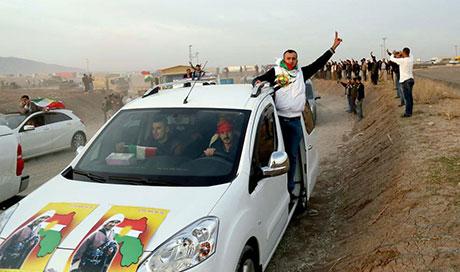 Peşmerge Kobani yolunda galerisi resim 3