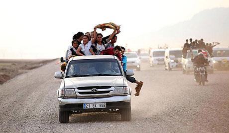 Peşmerge Kobani yolunda galerisi resim 8