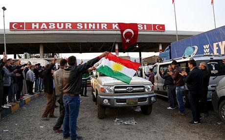 Peşmerge Kobani yolunda galerisi resim 9