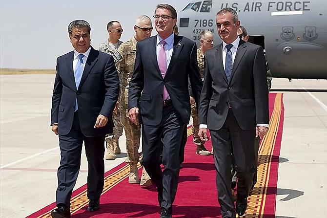 ABD Savunma Bakanı'nın Hewler ziyareti galerisi resim 2