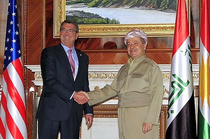 ABD Savunma Bakanı'nın Hewler ziyareti galerisi resim 4