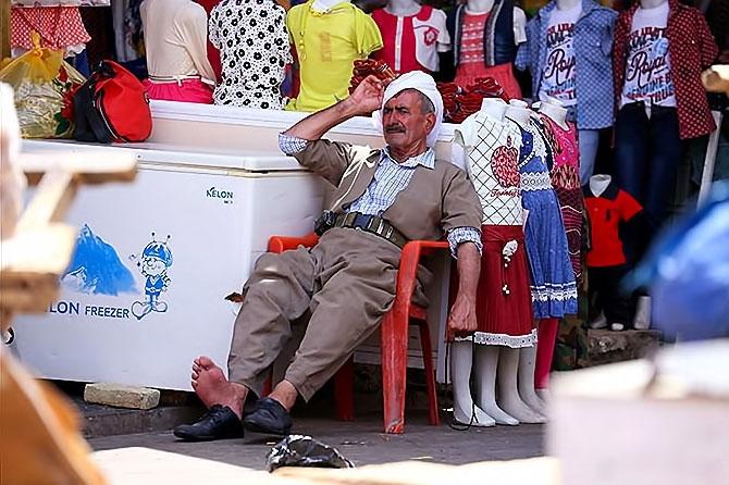Federal Kürdistan'da cehennem sıcakları galerisi resim 11