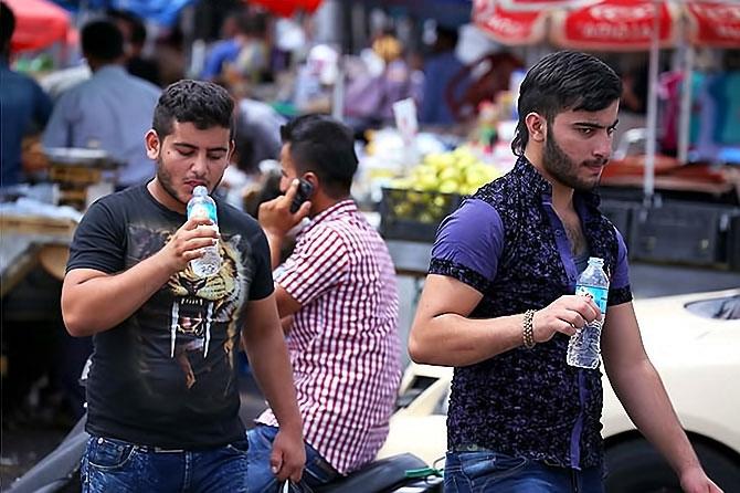 Federal Kürdistan'da cehennem sıcakları galerisi resim 8