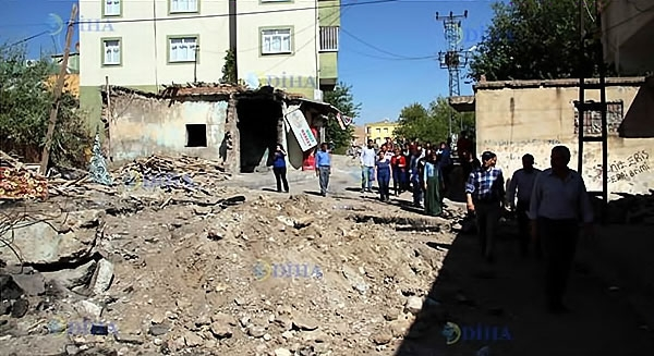 Silvan, Lice, Şemdinli'de savaş görüntüleri galerisi resim 22