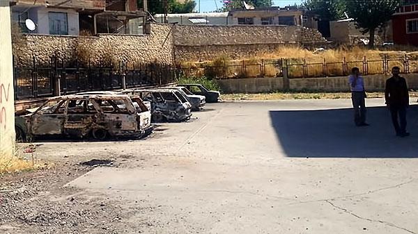 Silvan, Lice, Şemdinli'de savaş görüntüleri galerisi resim 35