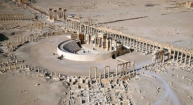 Fotoğraflarla Palmyra antik kenti galerisi resim 1