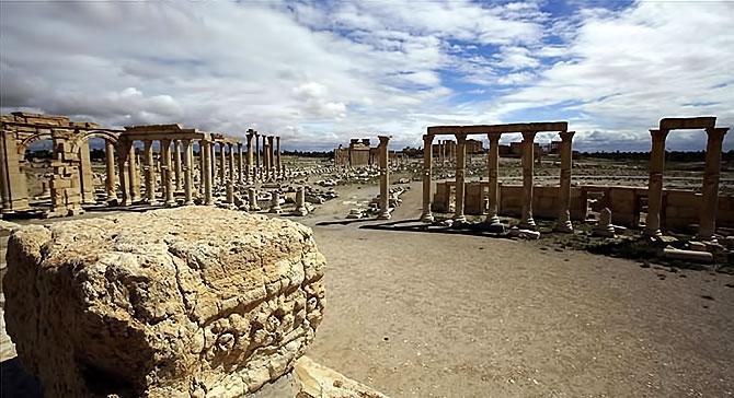 Fotoğraflarla Palmyra antik kenti galerisi resim 10