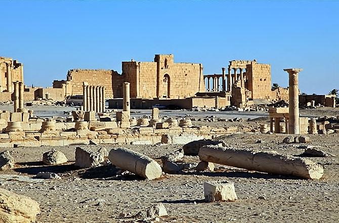 Fotoğraflarla Palmyra antik kenti galerisi resim 13