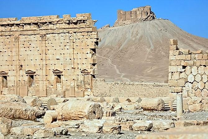 Fotoğraflarla Palmyra antik kenti galerisi resim 14