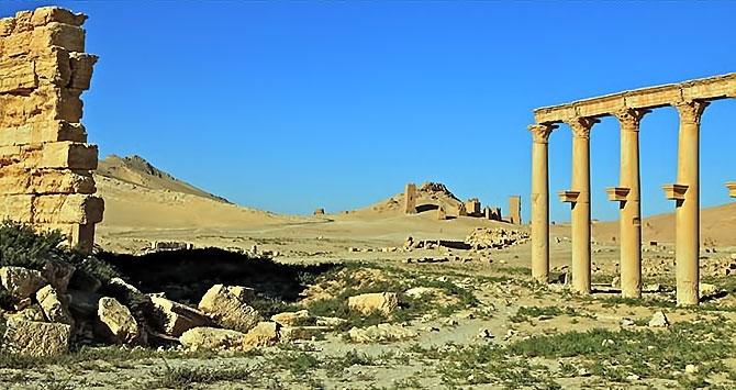 Fotoğraflarla Palmyra antik kenti galerisi resim 15