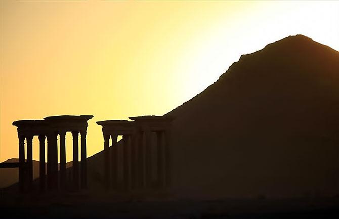 Fotoğraflarla Palmyra antik kenti galerisi resim 16