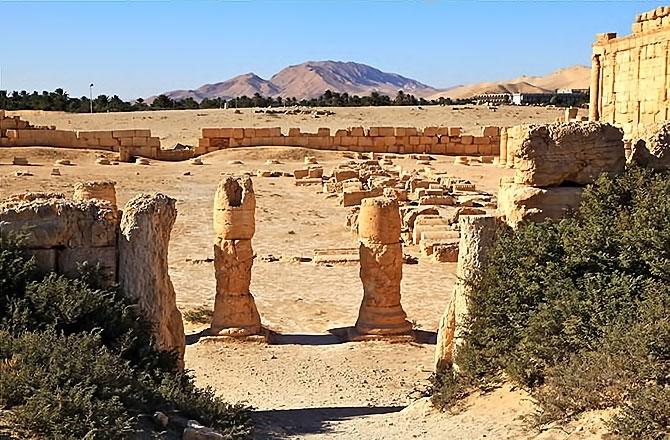 Fotoğraflarla Palmyra antik kenti galerisi resim 18