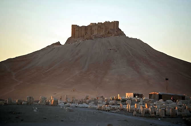 Fotoğraflarla Palmyra antik kenti galerisi resim 20
