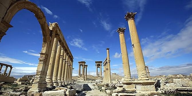 Fotoğraflarla Palmyra antik kenti galerisi resim 21