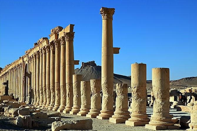 Fotoğraflarla Palmyra antik kenti galerisi resim 22