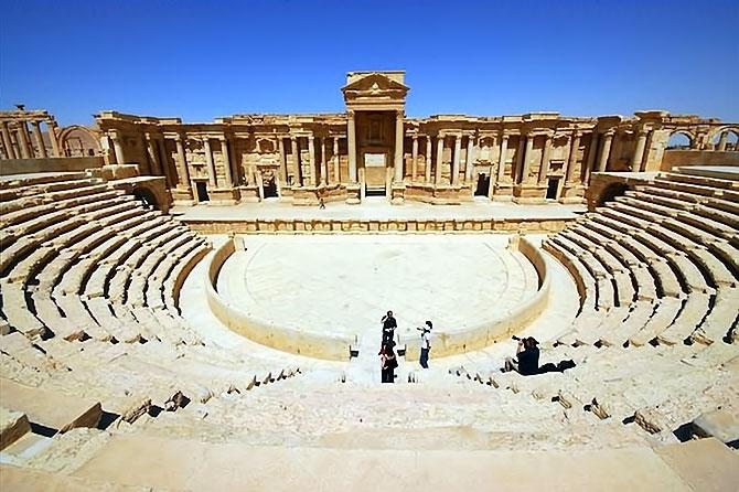 Fotoğraflarla Palmyra antik kenti galerisi resim 23