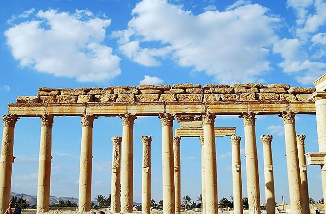 Fotoğraflarla Palmyra antik kenti galerisi resim 25