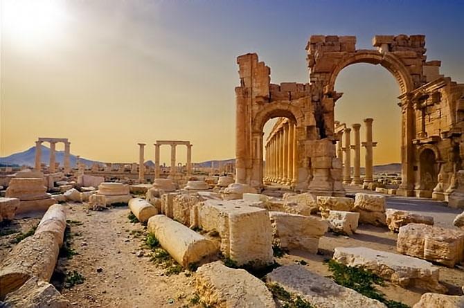 Fotoğraflarla Palmyra antik kenti galerisi resim 26