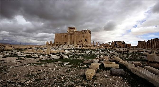 Fotoğraflarla Palmyra antik kenti galerisi resim 6