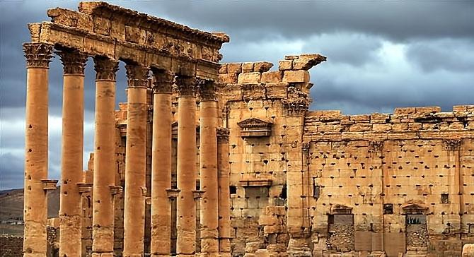 Fotoğraflarla Palmyra antik kenti galerisi resim 7
