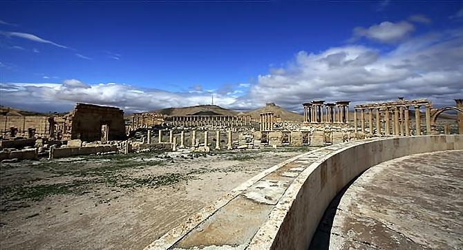 Fotoğraflarla Palmyra antik kenti galerisi resim 9