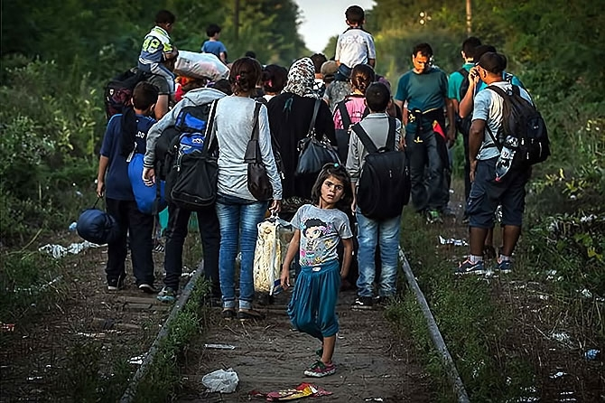 Avrupa'da göç yolları... galerisi resim 11