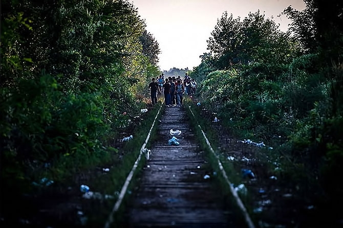 Avrupa'da göç yolları... galerisi resim 12