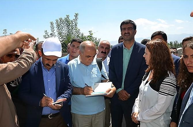 HDP heyetinin Yüksekova izlenimleri galerisi resim 3