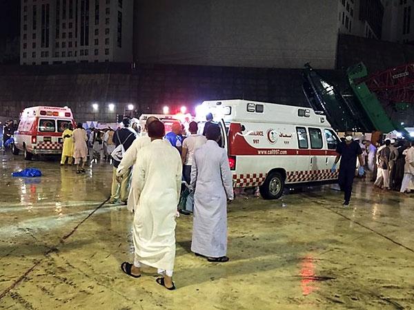Fotoğraflarla Kabe'de vinç kazası galerisi resim 1