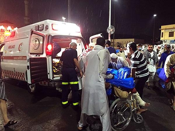 Fotoğraflarla Kabe'de vinç kazası galerisi resim 24