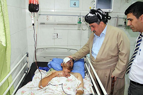 Heme Haci Mahmud'tan Peşmergelere moral ziyareti galerisi resim 11