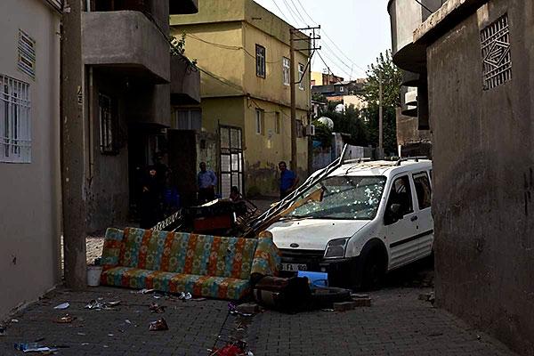 En çarpıcı fotoğraflarla Cizre'de yaşananlar galerisi resim 20