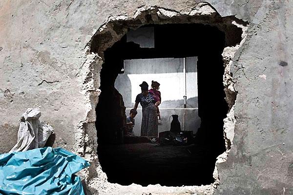 En çarpıcı fotoğraflarla Cizre'de yaşananlar galerisi resim 32