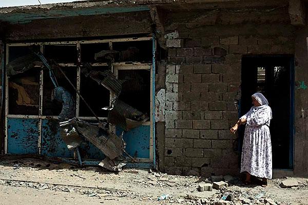 En çarpıcı fotoğraflarla Cizre'de yaşananlar galerisi resim 35