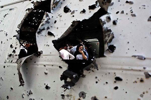 En çarpıcı fotoğraflarla Cizre'de yaşananlar galerisi resim 9