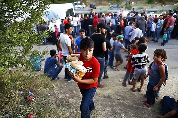 Çocuk gözüyle sığınmacıların dramı galerisi resim 11