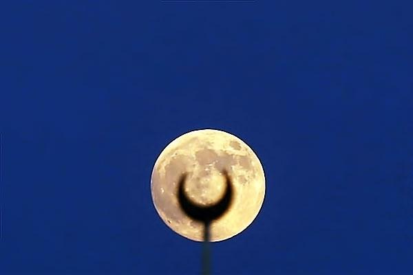 Reuters objektifinden 'Süper Ay' manzaraları galerisi resim 10