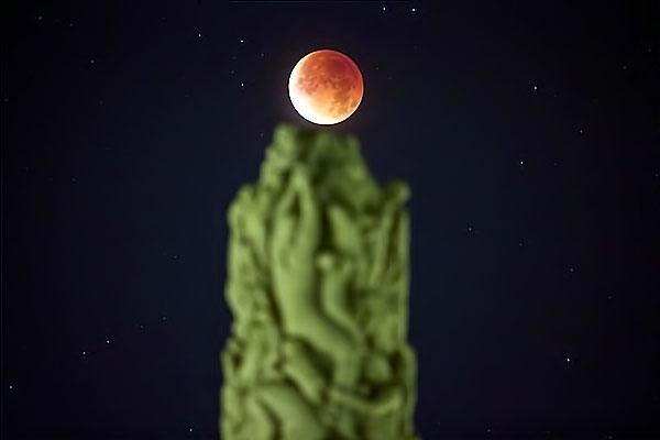 Reuters objektifinden 'Süper Ay' manzaraları galerisi resim 13