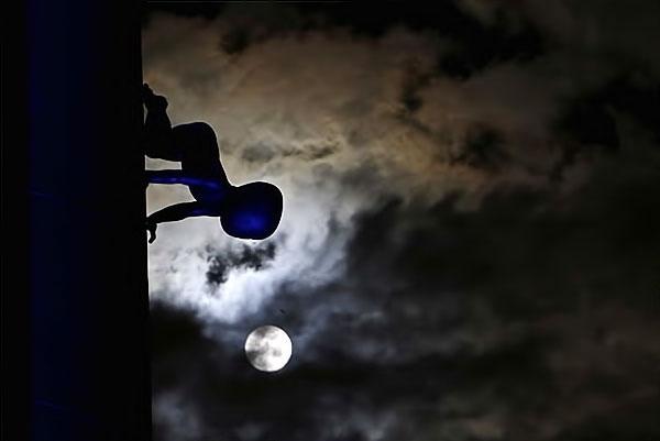 Reuters objektifinden 'Süper Ay' manzaraları galerisi resim 18
