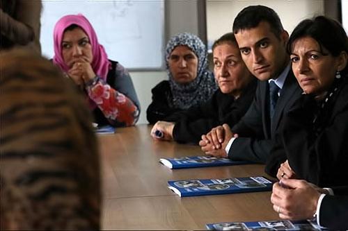 Paris Belediye Başkanı Hewler'de sığınmacı'larla galerisi resim 12