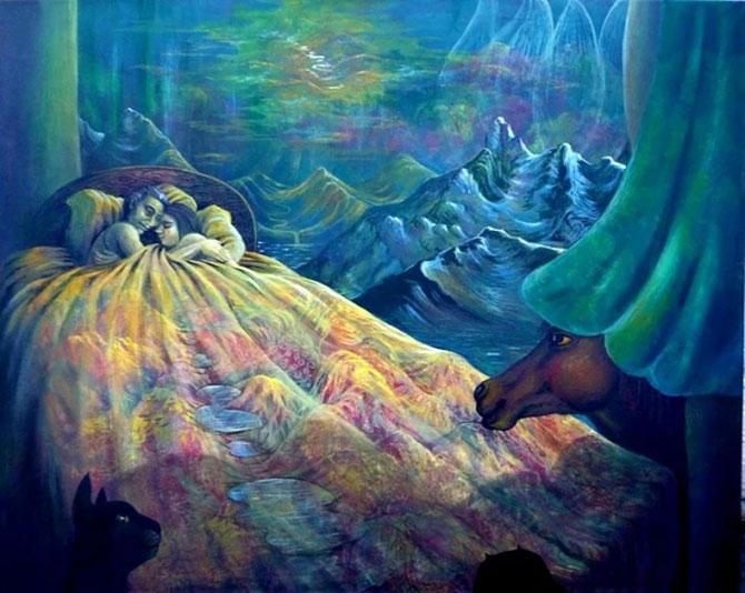 Birbirinden güzel sürrealist çalışmalar galerisi resim 1
