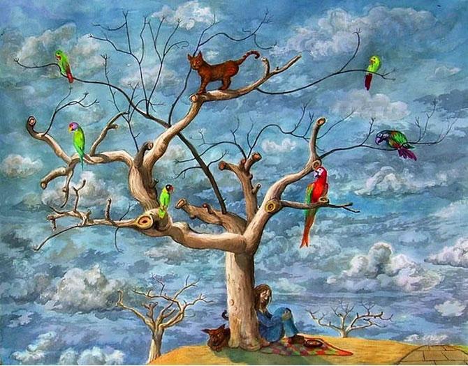 Birbirinden güzel sürrealist çalışmalar galerisi resim 11