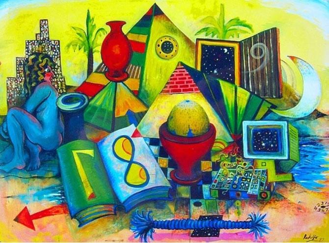Birbirinden güzel sürrealist çalışmalar galerisi resim 18
