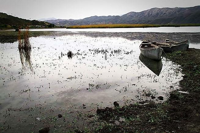 Rojhılat'ın Zırebar Gölü'nde sonbahar galerisi resim 12