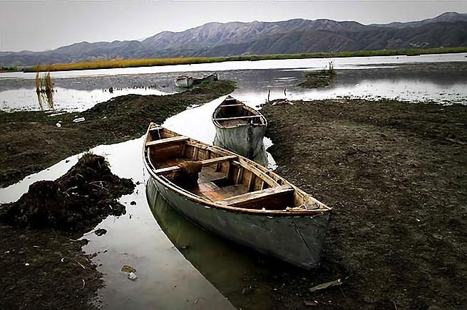 Rojhılat'ın Zırebar Gölü'nde sonbahar galerisi resim 3