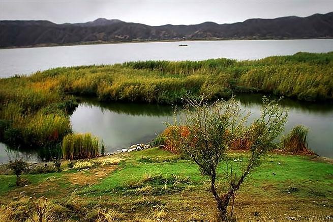 Rojhılat'ın Zırebar Gölü'nde sonbahar galerisi resim 4