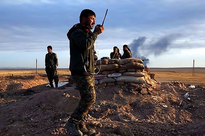 Suriye Demokratik Güçleri Haseke'de ilerliyor galerisi resim 1