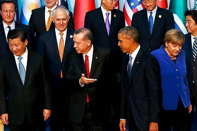 Reuters objektifinden Antalya'daki G-20 zirvesi galerisi resim 11