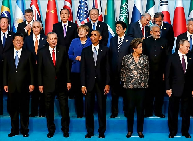 Reuters objektifinden Antalya'daki G-20 zirvesi galerisi resim 12