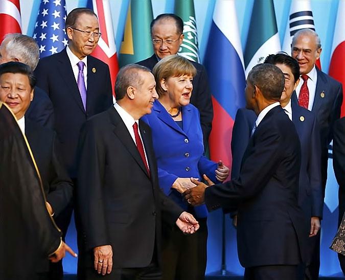 Reuters objektifinden Antalya'daki G-20 zirvesi galerisi resim 16